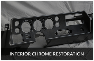 High quality interior chrome restoration with trusted industry partner and leader