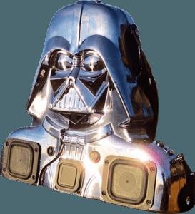 Custom black chromed Darth Vader