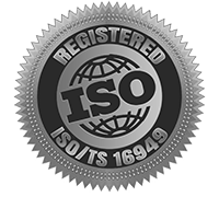 Committed to quality represented by ISO 16949 certification